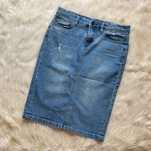 Jean skirt Blank NYC size 27